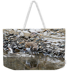 Mirror Mirror Weekender Tote Bag by Mike Dawson