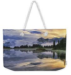 Molas Lake Sunrise Weekender Tote Bag