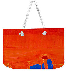 Monument Valley Original Painting Weekender Tote Bag
