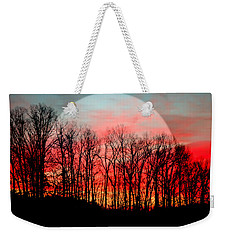 Moon Dance Weekender Tote Bag