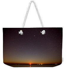 Moonrise On Tybee Island Weekender Tote Bag