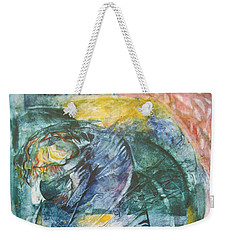 Mother And Child Weekender Tote Bag by Diana Bursztein