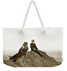 Weekender Tote Bag featuring the photograph Mount Tamalpais Marin County  Circa 1902 by California Views Mr Pat Hathaway Archives