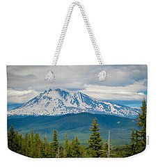 Mt. Adams From Indian Heaven Wilderness Weekender Tote Bag