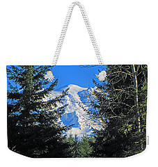 Weekender Tote Bag featuring the photograph Mt. Rainier I by Tikvah's Hope