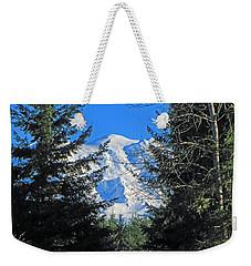 Mt. Rainier I Weekender Tote Bag by Tikvah's Hope