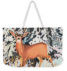 Mule Deer Weekender Tote Bag by Dan Miller