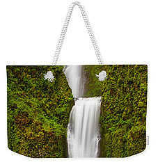 Multnomah Falls Weekender Tote Bag by Patricia Davidson