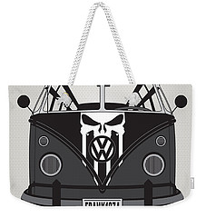 My Superhero-vw-t1-punisher Weekender Tote Bag