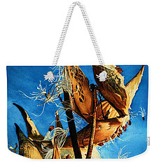 Nature's Launch Pad Weekender Tote Bag by Barbara Jewell