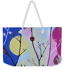 Weekender Tote Bag featuring the painting Nature's Bounty by Kathleen Sartoris