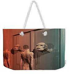 New Faces Weekender Tote Bag by John Alexander