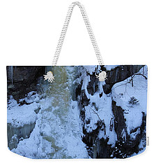 The Wintery Flume  Weekender Tote Bag
