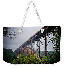 New River Bridge Weekender Tote Bag
