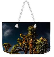 Night Desert Weekender Tote Bag