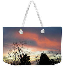 Night Falling Weekender Tote Bag