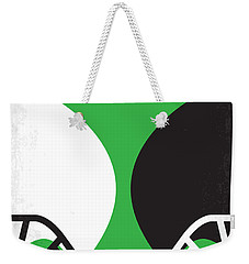 No420 My Any Given Sunday Minimal Movie Poster Weekender Tote Bag