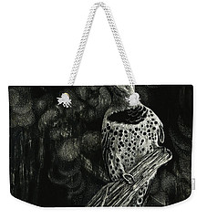 Northern Flicker Weekender Tote Bag by Sandra LaFaut
