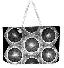Nuclear Fusion Weekender Tote Bag by Jason Padgett