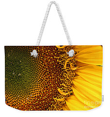 Weekender Tote Bag featuring the photograph O Sunflower by Jeanette French