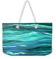 Ocean Swell By V.kelly Weekender Tote Bag