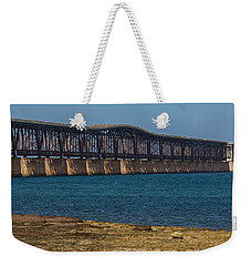 Old Bahia Honda Bridge Weekender Tote Bag