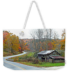 Old Barn Along Slick Fisher Road Weekender Tote Bag