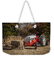 Old Ford Tractor Weekender Tote Bag