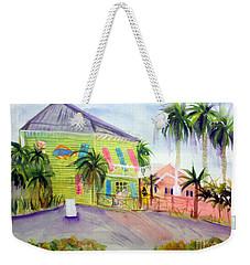 Old Key Lime House Weekender Tote Bag