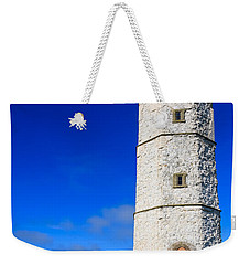 Old Lighthouse Flamborough Weekender Tote Bag