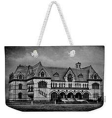 Old Post Office - Customs House B/w Weekender Tote Bag by Sandy Keeton
