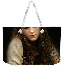 Weekender Tote Bag featuring the photograph Olivia by John Rivera