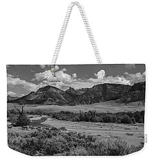Open Valley Weekender Tote Bag