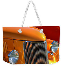 Orange Hotrod Weekender Tote Bag