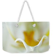 Moth Orchid Macro Weekender Tote Bag