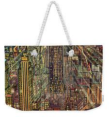 New York Mid Manhattan 71 Weekender Tote Bag by Art America Gallery Peter Potter