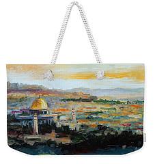 Panorama Of Jerusalem Weekender Tote Bag