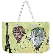 Paris Weekender Tote Bag