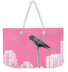 Weekender Tote Bag featuring the photograph Parrot by J Anthony