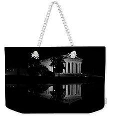 Parthenon Puddle Weekender Tote Bag