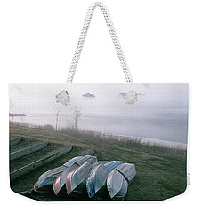 Weekender Tote Bag featuring the photograph Patiently Waiting by David Porteus