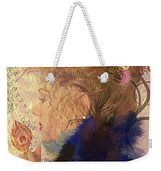 Weekender Tote Bag featuring the digital art Patricia Prays by Kim Prowse