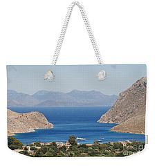 Pedi Bay Symi Weekender Tote Bag