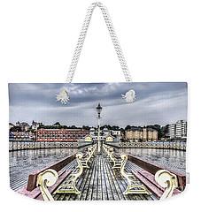 Penarth Pier 5 Weekender Tote Bag