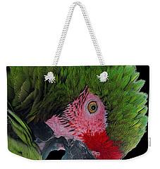 Pensive Parrot Weekender Tote Bag