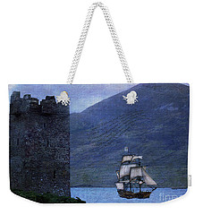 Petitioning The Queen Weekender Tote Bag by Patricia Griffin Brett