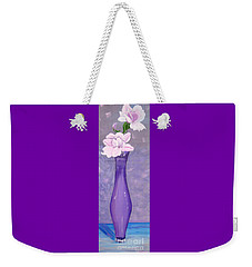 Phyl's Roses Weekender Tote Bag by Phyllis Kaltenbach