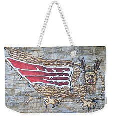 Weekender Tote Bag featuring the photograph Piasa Bird by Kelly Awad