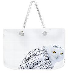 Piercing Eyes Weekender Tote Bag