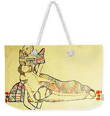 Pieta Weekender Tote Bag by Gloria Ssali